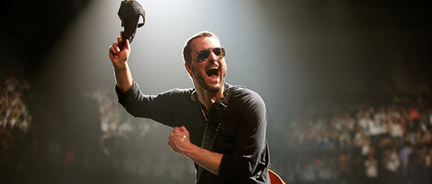 Eric Church Courtesy: Jill Trunnell