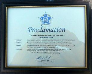 FOP Proclamation (courtesy of Webster PR)
