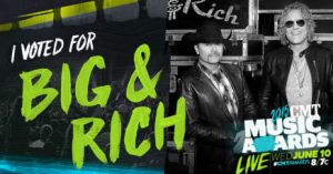 Vote for Big & Rich on CMT Music Awards