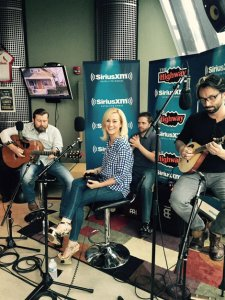 "Kellie Pickler stopped by SiriusXM ""The Highway"" to debut her new single ""Feeling Tonight"" and perform a few songs live with her band."