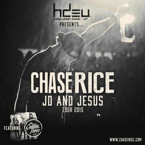 Chase Rice - JD and Jesus Tour 2015