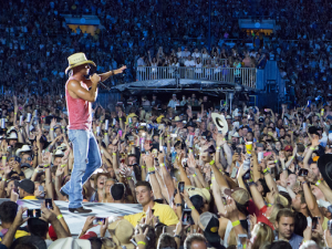 Kenny Chesney performing at Rose Bowl on Saturday, July 25 Credit: Allister Ann