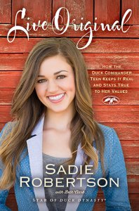 Sadie Robertson - Live Original Book Cover