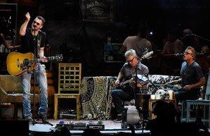 L-R: Eric Church, Lee Hendricks, and Craig Wright Photo Credit: Rick Diamond