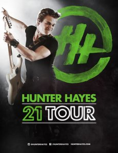 Hunter Hayes 21 Tour