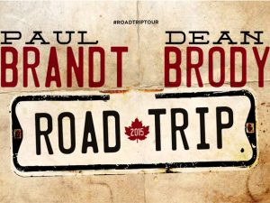 Dean Brody & Paul Brandt - Road Trip Tour 2015