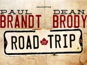 Dean Brody & Paul Brandt - Road Trip Tour 2015