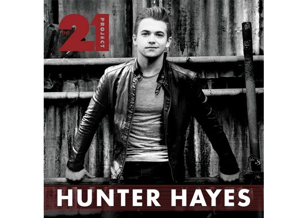 Hunter Hayes - The 21 Project Cover Art Courtesy: Atlantic / Warner Music Nashville