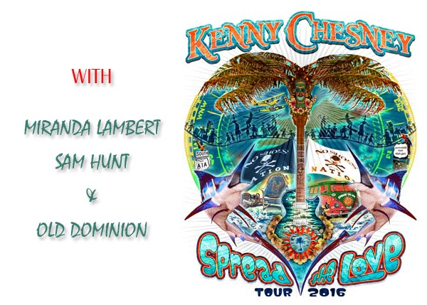 Kenny Chesney - Spread The Love Tour