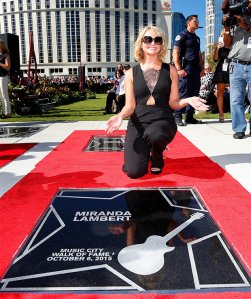 Miranda Lambert - Walk of Fame