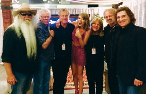 The Oak Ridge Boys with Taylor Swift & family