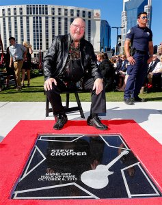 Steve Cropper - Walk of Fame