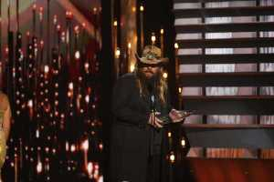 Chris Stapleton - Song of the Year (Photo courtesy of Donn Jones-CMA  )