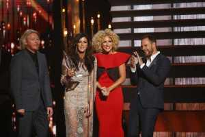 Little Big Town - Single of the Year  (Photo courtesy of Donn Jones-CMA  )