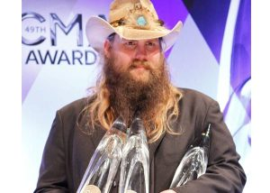 Chris Stapleton - Male Vocalist of the Year (courtesy of Jamie Schramm/CMA )