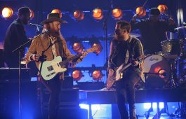 "Brothers Osborne performs Wednesday during ""The 51st Annual CMA Awards"" while also claiming two trophies for Video of the Year and Vocal Duo. Photo Credit: Donn Jones/CMA"