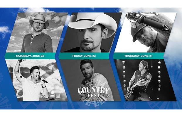Country Fest 2018 - Headliners