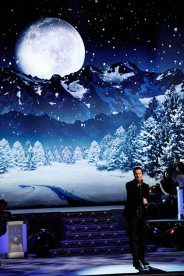 "Luke Bryan performs ""O Holy Night"" during ""CMA Country Christmas,"" airing Monday, Nov. 27 on the ABC Television Network. Bryan returns to ""CMA Country Christmas"" to perform for a second year. Photo Credit: Donn Jones / CMA"