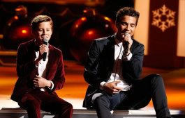"CB30—brothers Christian and Brody Clementi, both born on the 30th of the month—make their network television debut performing ""The Christmas Song"" during ""CMA Country Christmas,"" airing Monday, Nov. 27 on the ABC Television Network. The duo caught the attention of Country Music superstar Luke Bryan, which led to a recording deal with Buena Vista Records. Photo Credit: Donn Jones / CMA"